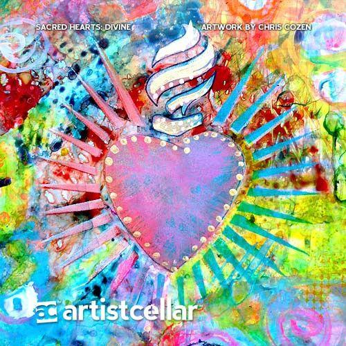Sacred Hearts Series Four-Stencil Set