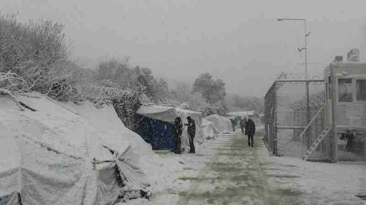 Refugee Children Facing Extreme Cold Weather in Europe