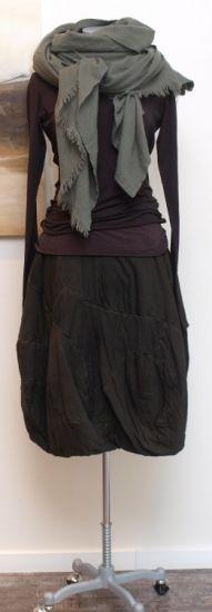 rundholz black label - Shirt Double Jersey Stretch rubin - Winter 2014 - stilecht - mode für frauen mit format...