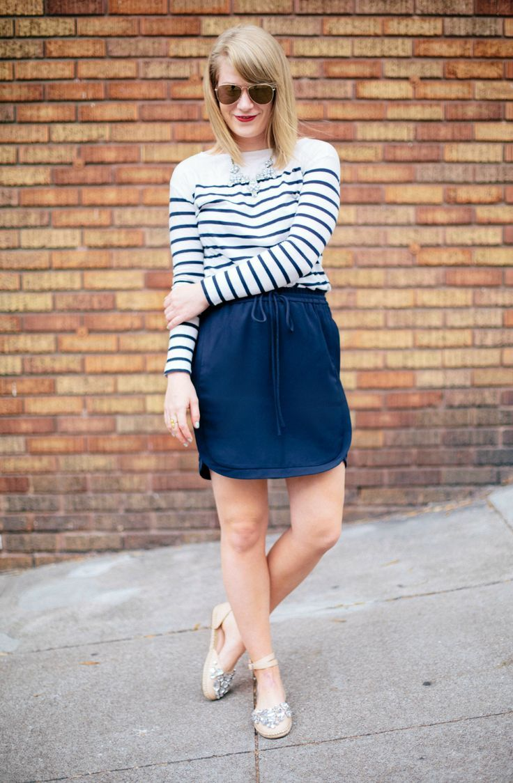 Outfit // In the Navy.