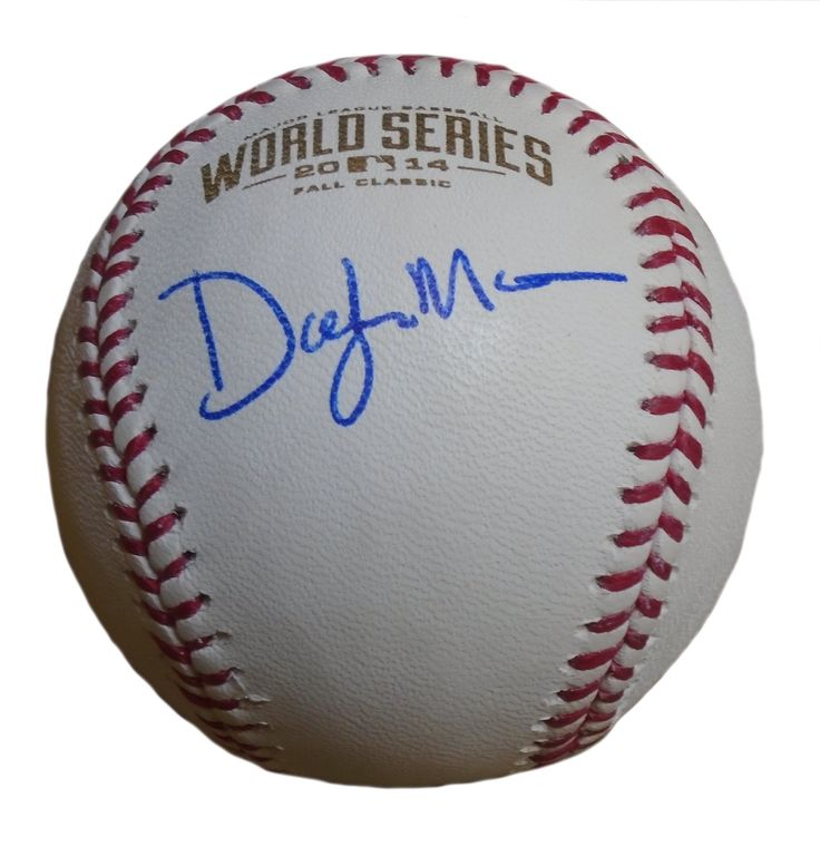 Dayton Moore Autographed Rawlings 2014 World Series Official Game Baseball, Proof. Dayton Moore Signed Rawlings 2014 World Series Official Game Baseball, Kansas City Royals, Proof   This is a brand-new Dayton Moore autographed Rawlings 2014 World Series official league leather baseball. Dayton signed the baseball in blue ball point pen.Check out the photo of Dayton signing for us. ** Proof photo is included for free with purchase. Please click on images to enlarge. Please browse our…