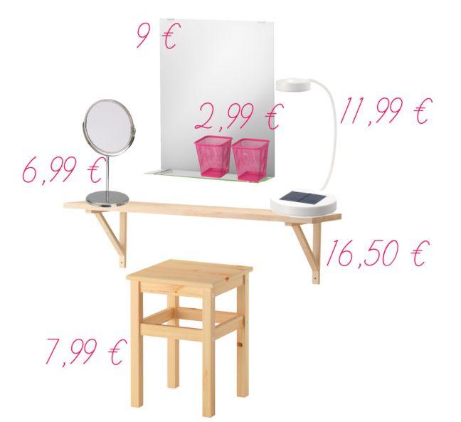 Pi di 25 fantastiche idee su specchio da trucco su - Ikea specchio trucco ...