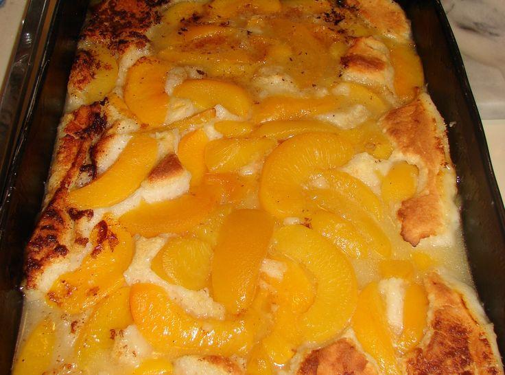 Yum... I'd Pinch That! | Sarah Lee's Sugar Free Peach Cobbler... For Sunday dinner desert...