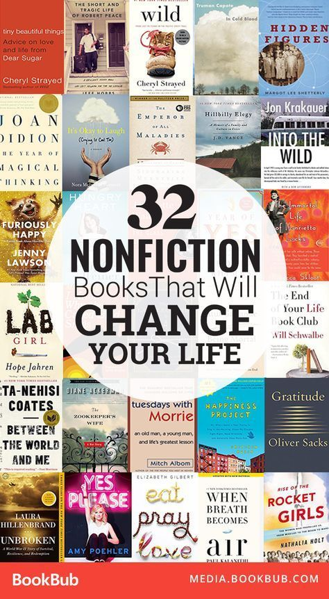 64 best what we are reading images on pinterest book worms book 32 inspirational nonfiction books for adults that will change your life this list includes some fandeluxe Choice Image