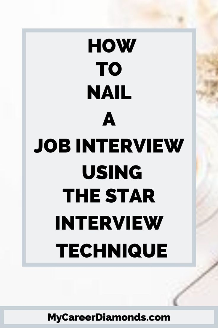 34++ What is the star method interview Resume Examples