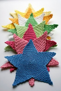 stars - how to: Crochet Ideas, Knits Crochet, Stars Patterns, Christmas, På Stjerner, Crochet Patterns, Hekleoppskrift På, Crochet Knits, Crochet Stars