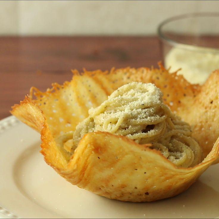 parmesan pasta bowl
