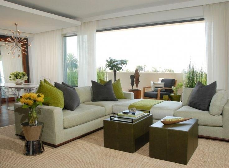 Mer enn 25 bra ideer om Dekoideen wohnzimmer på Pinterest - wohnzimmer dekorieren grun