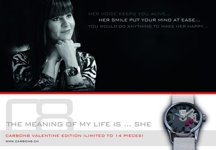 Carbon8 Valentine Edition ... limited to 14 pieces