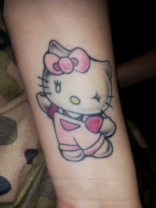 78 best images about hello kitty tattoo on pinterest for Hello kitty tattoo sleeve