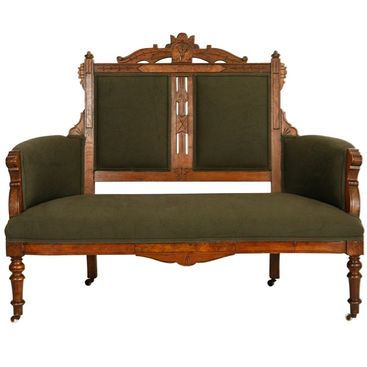 Antique Eastlake Sofa: 92 Best Spoon Carved Eastlake Furniture Images On