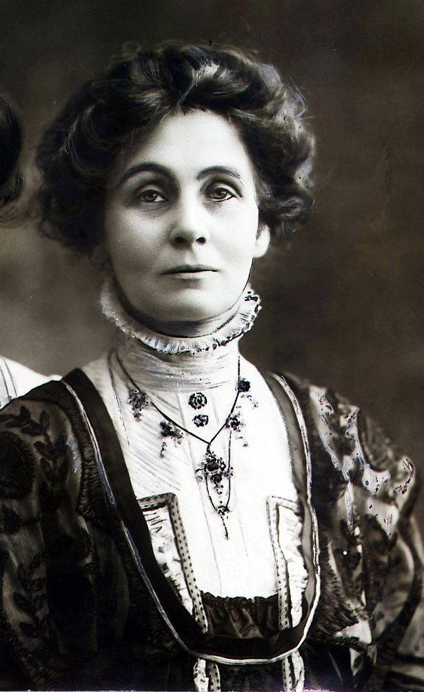 """21. """"We are here not because we are law-breakers; we are here in our efforts to become law-makers."""" - Emmeline Pankhurst (1858-1928)"""