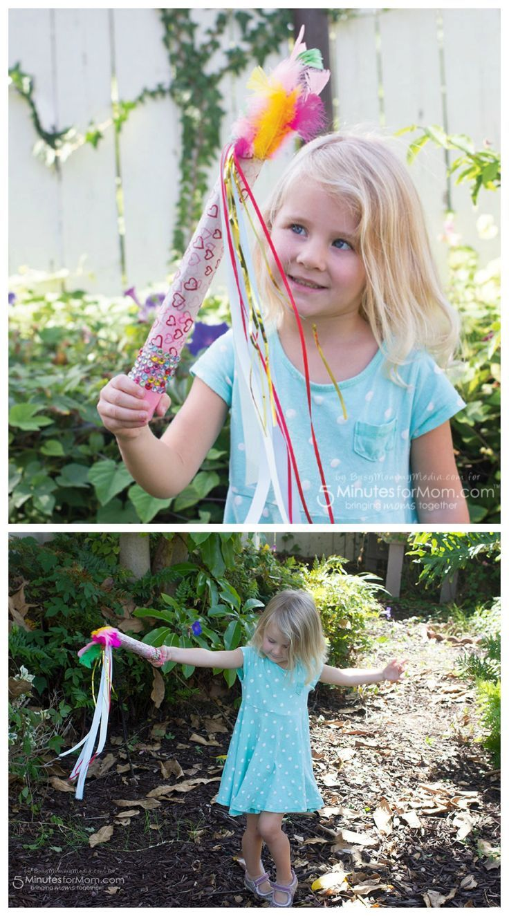 DIY Little Charmers Magic Wand Craft. This simple, fun craft is perfect for preschoolers. Sponsored.