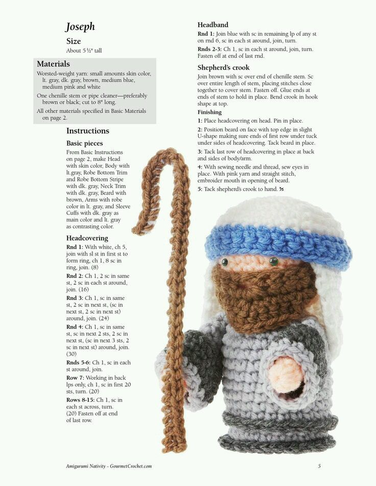 17 Best images about Crochet Christmas Nativity on ...