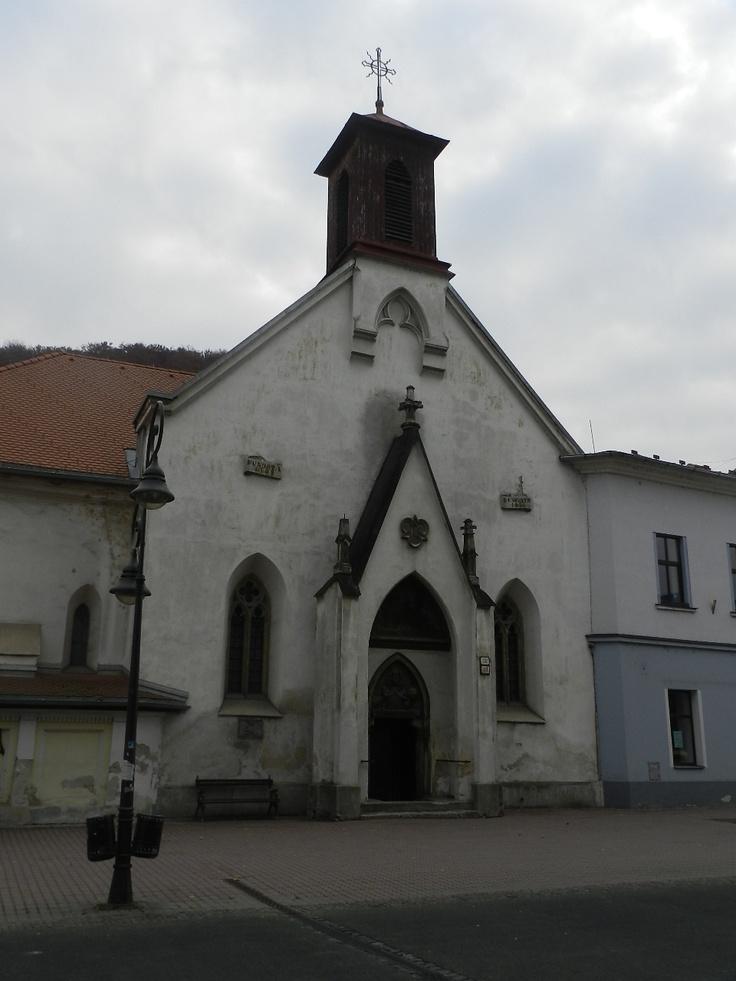 Banská Bystrica - Besztercebánya, Slovakia - Szent Erzsébet templom