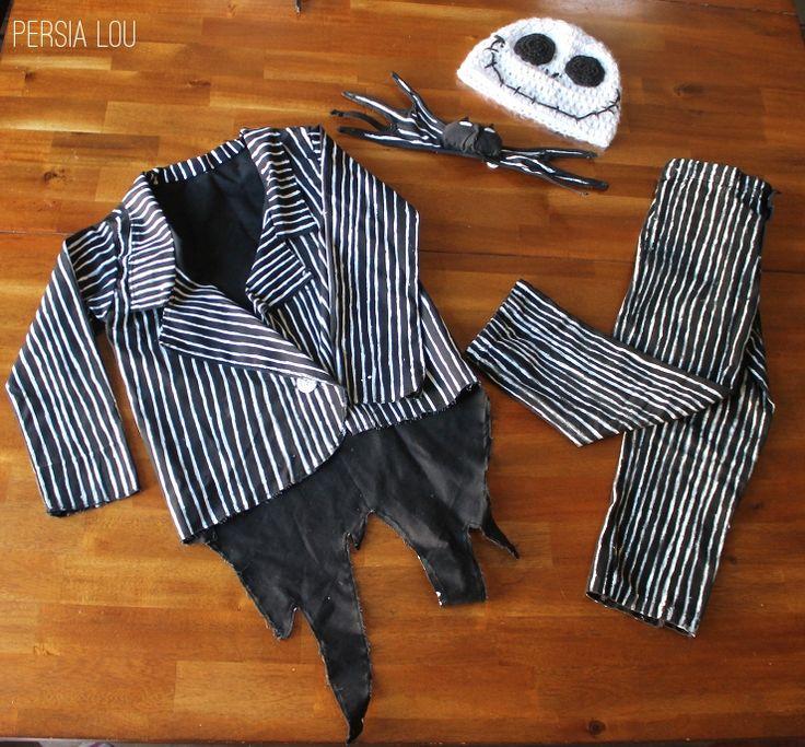 DIY Jack Skellington Kid's Costume by Persia Lou