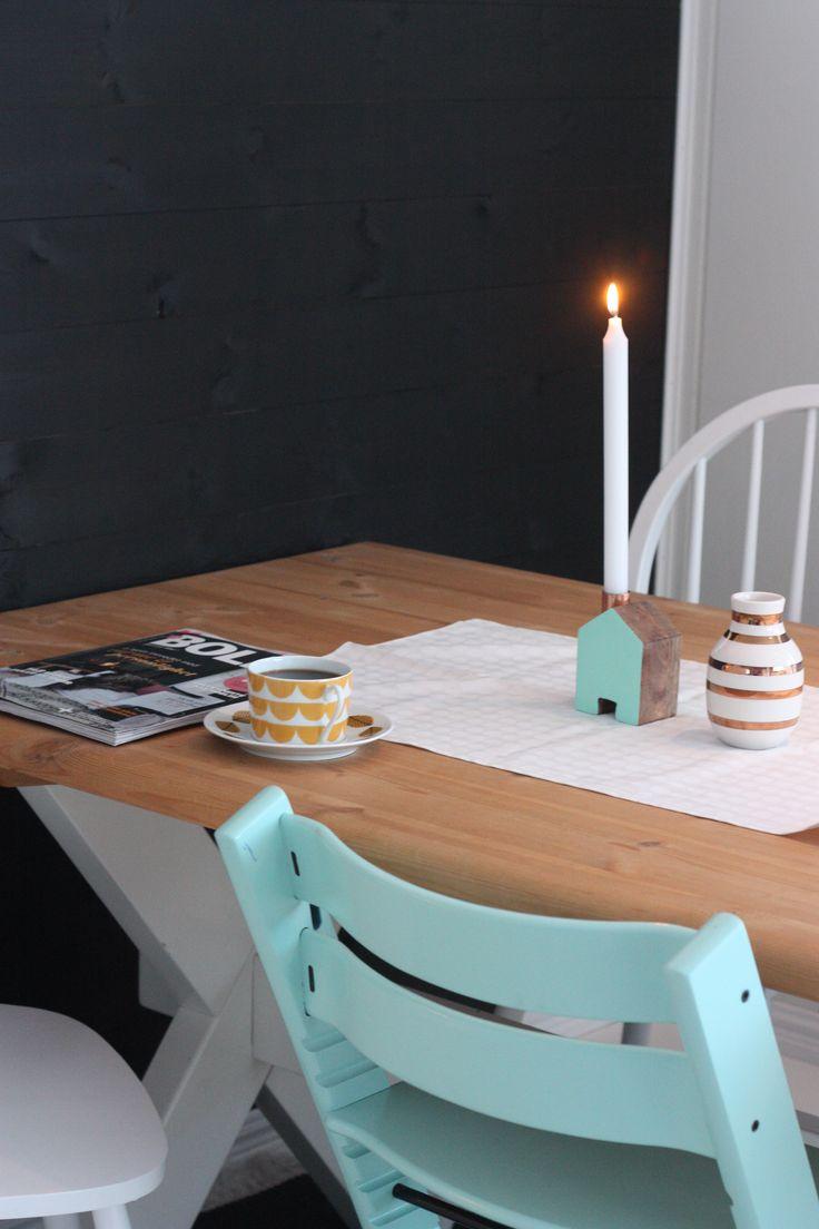 Diningroom, livingroom, table