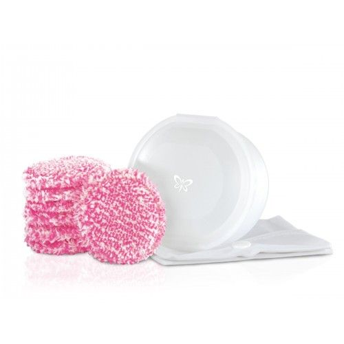 Make-up pads, pink