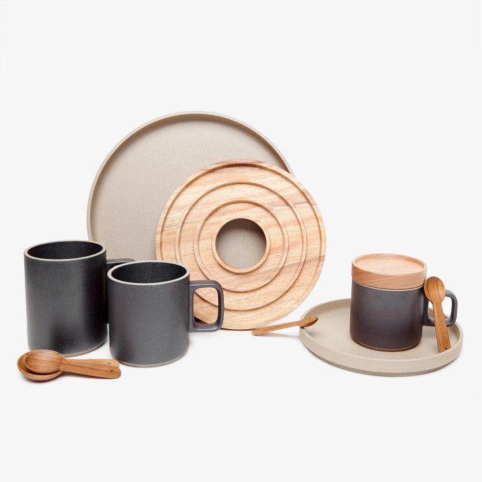 Hasami Black Porcelain Mug