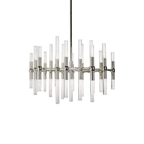 Kuzco Lighting CH9628-PN Turin Polished Nickel 27-Inch LED Chandelier | Bellacor
