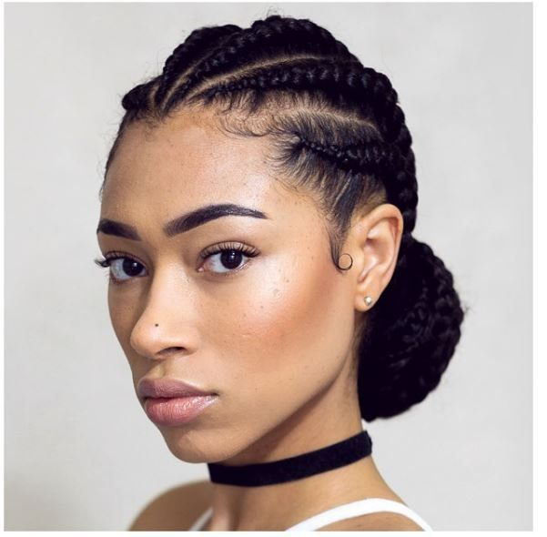 natural black hair cornrow styles 9 cornrow styles that are for the summer gallery 9321 | 3c823eab38404f27b441fbb2417db74a