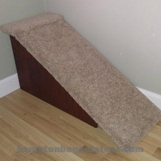 Custom Dog Ramp for Beds by Hampton Bay Pet Steps.