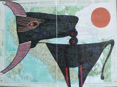 Ronald Rae, Bull on ArtStack #ronald-rae #art