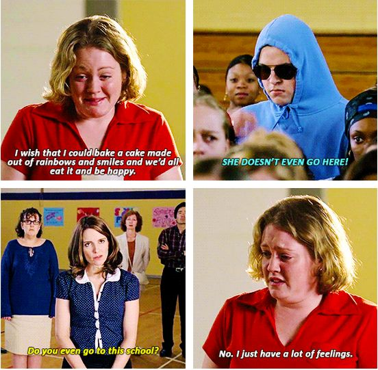 "Mean Girls ""She doesn't even go here!!""--My favorite part of the movie!!"