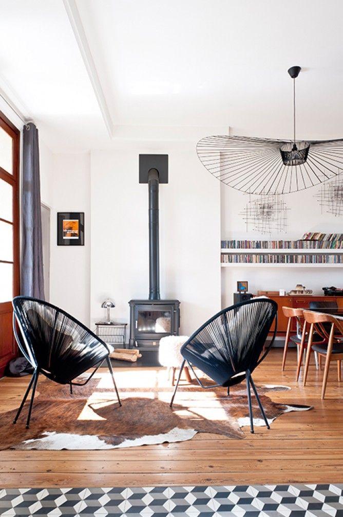 D coration amandine berthon home sweet home pinterest for Poele a bois tendance