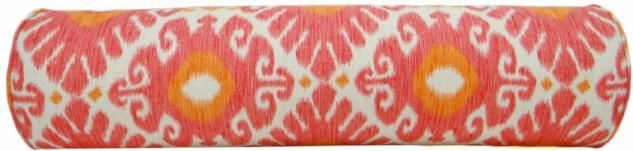 The Bolster :: East Hampton Ikat // Coral