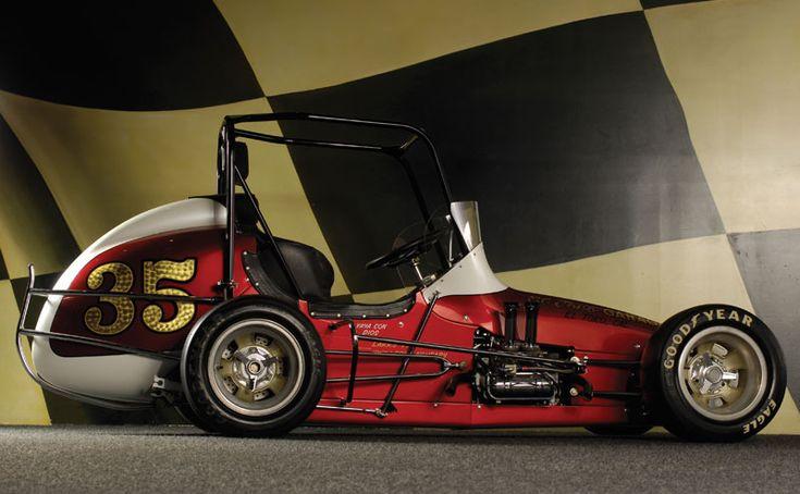 1976 35 el toro garage midget powered by a for Garage energy automobiles