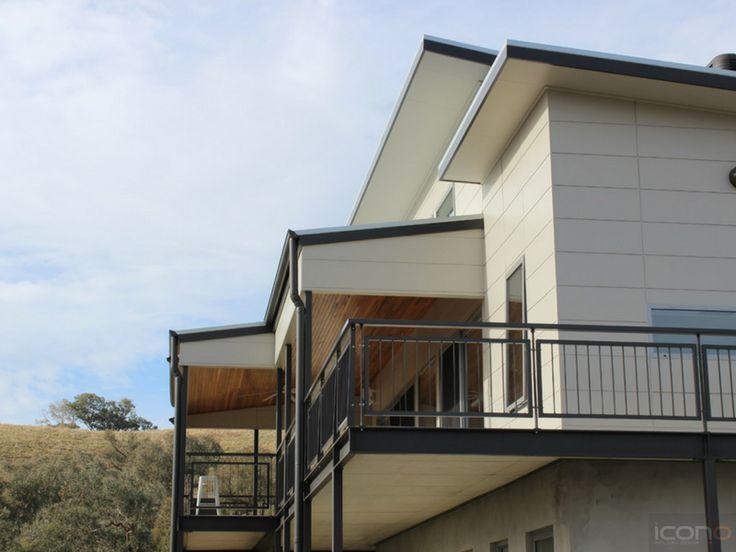 Balcony with the view of the beautiful Australian Bush land! #Architecture #iconobuildingdesign #balcony