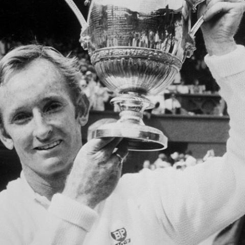 The latest in our #Melbourne Icon series. #Wimbledon 1961: Rod Laver wins Men's Singles tennis final for the first time. Backing it up again in '62, '68 and '69 with wins in the Australian open in '60, '62 and '69 as well as the French open and US Open in '62 and '69 also. Hence Melbourne's Rod Laver Arena.