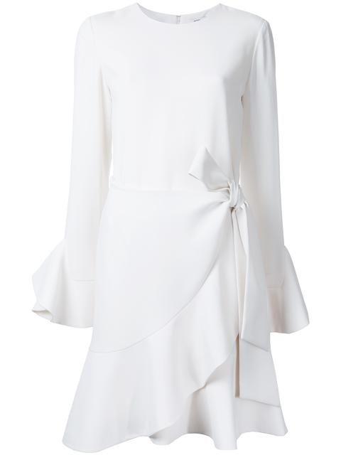 Goen.j Woman Fringe-trimmed Crocheted Cotton Lace Mini Dress Off-white Size S GOEN.J Brand New Unisex Online vsKU4