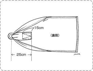 ベビースリングの作り方 Baby sling pattern (Japanese)