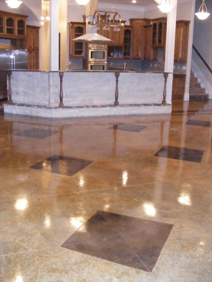 21 best Acid Stained Concrete images on Pinterest  Acid
