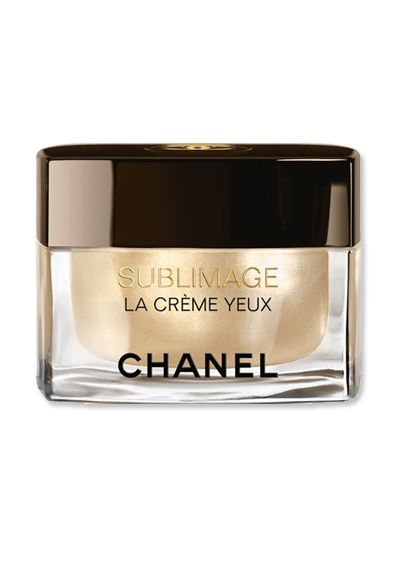 Kara Yoshimoto Bua's Top 10 Products for Flawless Looking Skin - Chanel SUBLIMAGE LA CRÈME YEUX ULTIMATE REGENERATION EYE CREAM from #InStyle