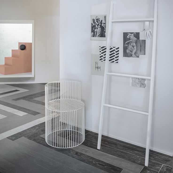 """Maxe Fumo-Grafite-Gesso 15x120cm/6""""x48"""""""