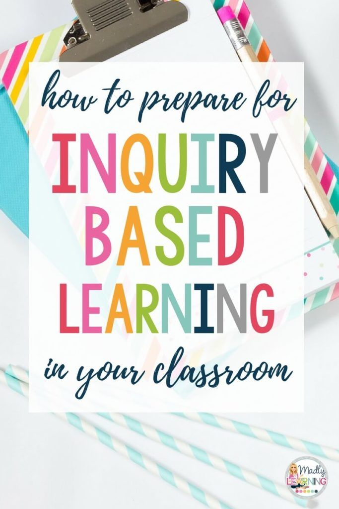 These 8 ways to plan for inquiry will change how you teach! Click through to see how! inquiry based learning | activities | projects