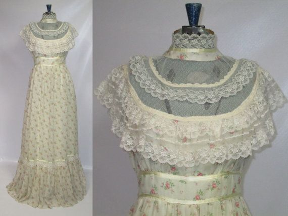 17 best images about dresses gunney sack on pinterest for Laura ingalls wilder wedding dress