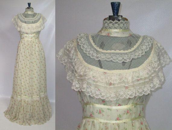 17 best images about dresses gunney sack on pinterest for Laura ingalls wilder wedding dress