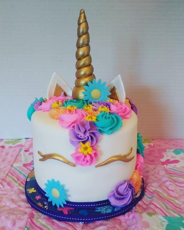 Whimsical Unicorn Cake Cupcake Cakes Party Cakes Cake