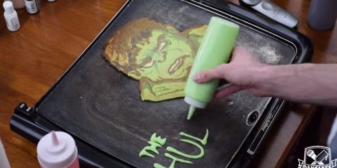 The Avengers Pancakes to the rescue!