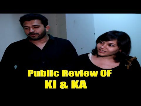 Public Review of KI & KA movie | Kareena Kapoor, Arjun Kapoor.