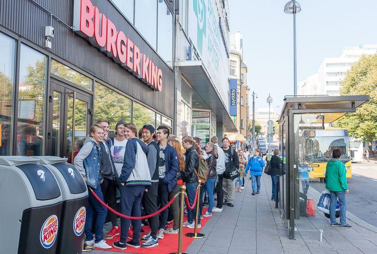 Turun ensimmäinen Burger King avaa ovensa muutaman minuutin kuluttua.