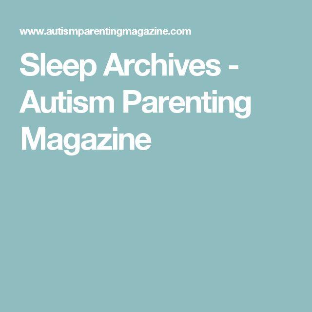 Sleep Archives - Autism Parenting Magazine