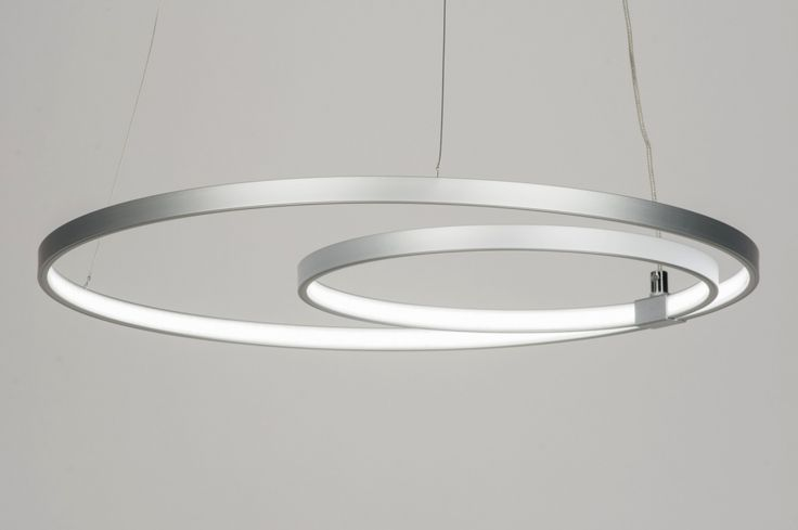 Lampara Colgante 72101: Moderno, Diseno, Aluminio, Material Sinteticos