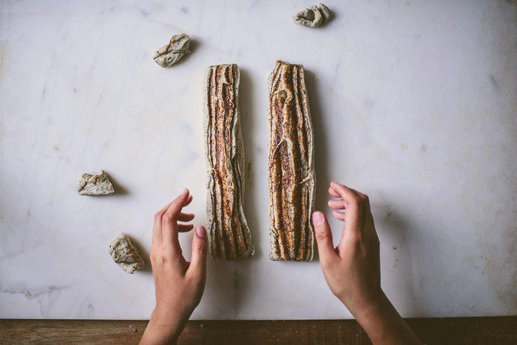 Black Sesame Tangzhong Milk Bread Babka » Betty L