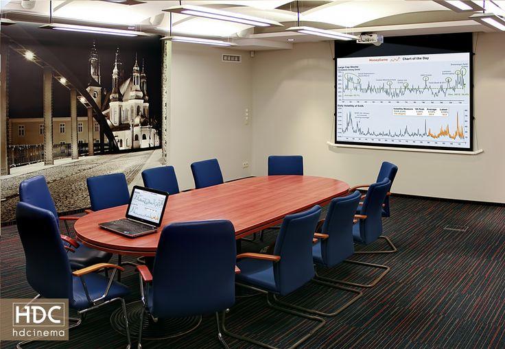 Luxury conference bespoke room in registrar's office made by HDCINEMA. #conferenceroom #audiovisual #mediaroom #design #inteligencetech #technology #art