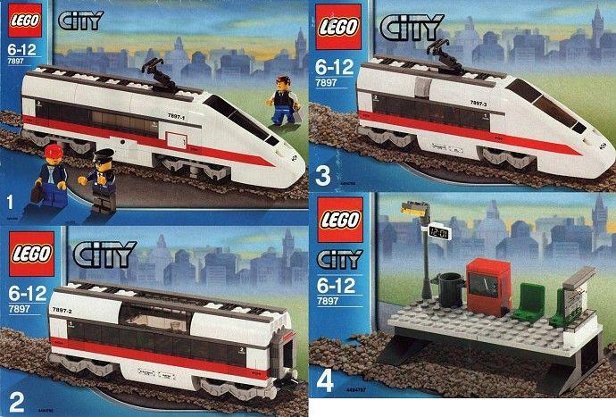 7897-1: Passenger Train | Brickset: LEGO set guide and database